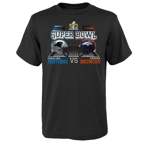 NFL Boys' Carolina Panthers Super Bowl 50 Field