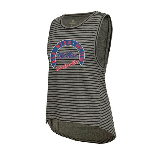 Colosseum Athletics™ Women's University of Mississippi Stay In Your Lane Tank Top