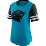 Nike Women's Carolina Panthers Gear Up Modern Fan Top