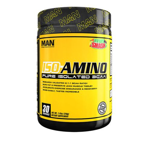 Display product reviews for MAN Sports Iso-Amino Pure Isolated BCAA