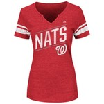 Majestic Women's Washington Nationals Success Is Earned T-shirt