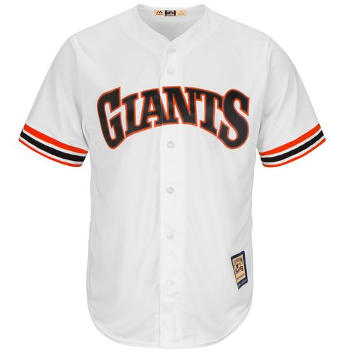Majestic Men's San Francisco Giants Will Clark #22 Cooperstown Cool Base 1982 Replica Jersey - view number 2