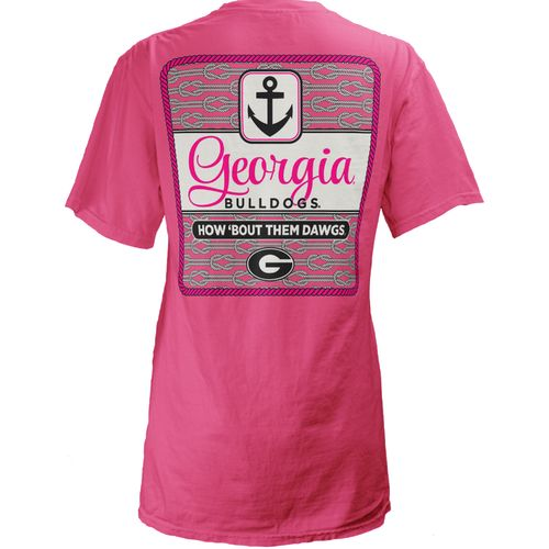 Three Squared Juniors' University of Georgia Knotty Tide T-shirt