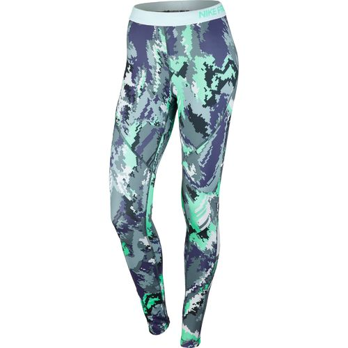Nike™ Women's Pro Hyperwarm Oil Glitch Tight