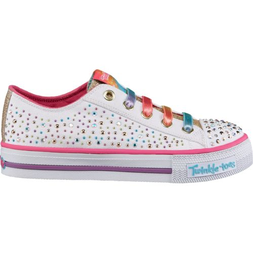 SKECHERS Kids' Twinkle Toes Shuffles Twirly Toes Shoes