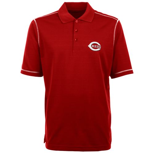 Antigua Men's Cincinnati Reds Icon Piqué Polo Shirt