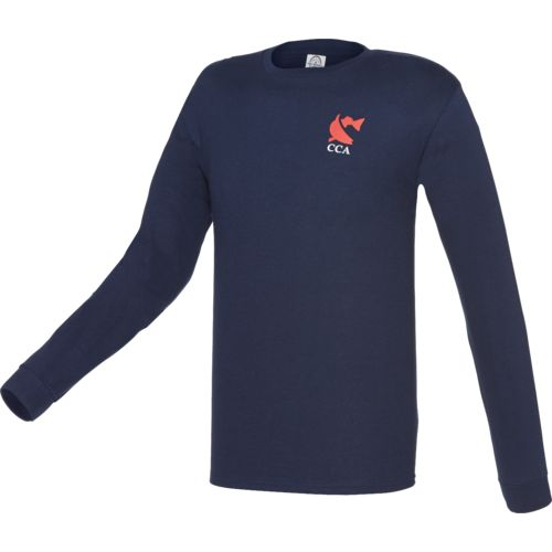 detailed look f094a 7e307 70%OFF CCA  Men s Fishing Flag Long Sleeve T-shirt.
