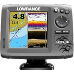 Lowrance HOOK-5 Mid/High DownScan Sonar/GPS Chartplotter Combo