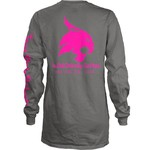 Three Squared Juniors' Texas State University Cynthia Pocketed Long Sleeve T-shirt