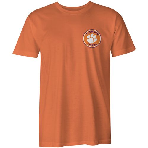 Image One Men's Clemson University Rounds Comfort Color T-shirt - view number 2
