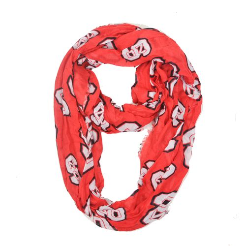ZooZatz Women's North Carolina State University Infinity Scarf
