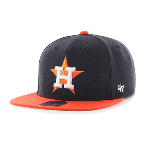 '47 Houston Astros Boys' Lil Shot 2-Tone Captain Cap