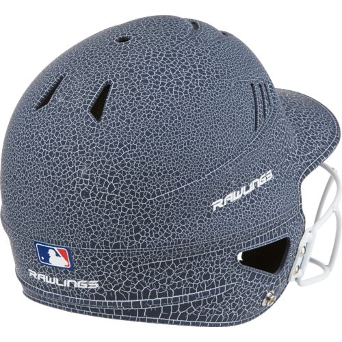 Rawlings Women's Crackle Softball Helmet with Face Mask - view number 2