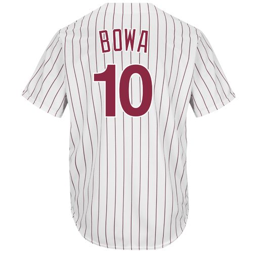 Majestic Men's Philadelphia Phillies Larry Bowa #10 Cool Base Cooperstown Jersey