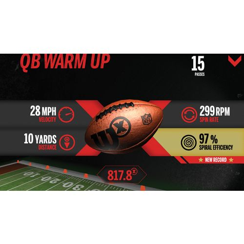 Wilson™ X Connected Football - view number 3