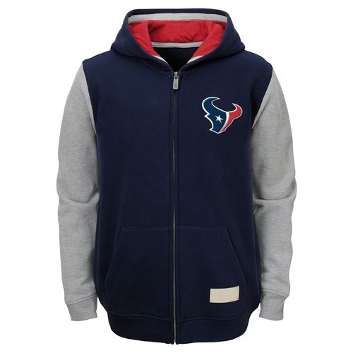 NFL Boys' Houston Texans Vintage Team Hoodie