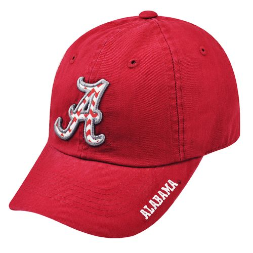 Top of the World Women's University of Alabama Chevron Crew Cap