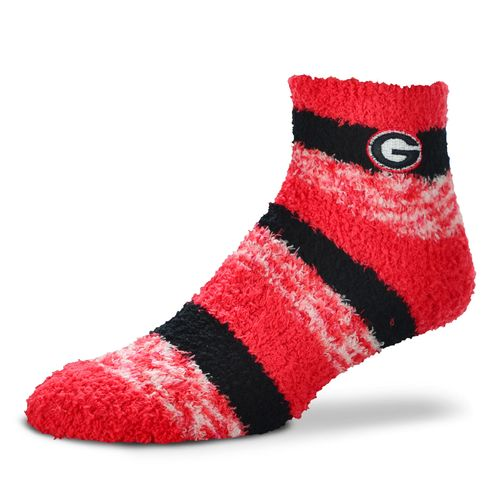 FBF Originals Women's University of Georgia Pro Stripe Sleep Soft Socks