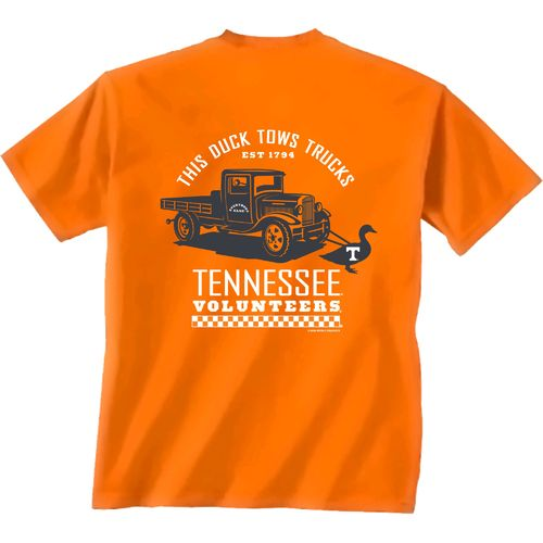 New World Graphics Men's University of Tennessee Duck Truck T-shirt