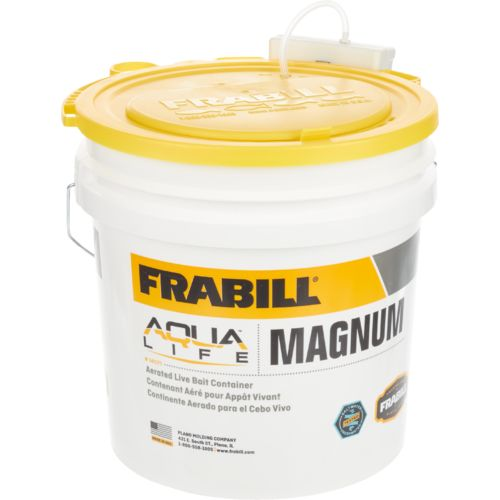 Frabill 4.25 gal Magnum Bucket with Aerator - view number 1