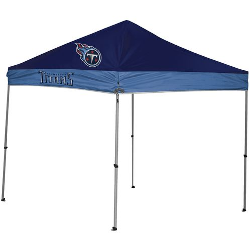NFL Tennessee Titans 9 ft x 9 ft Straight Leg Canopy