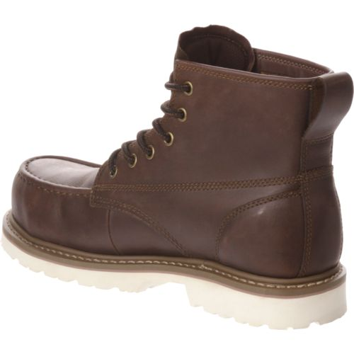 Brazos Men's Wyatt Lace-Up Composite Toe Work Boots - view number 3