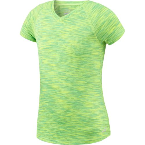 BCG Girls' Space Dye Turbo Training T-shirt