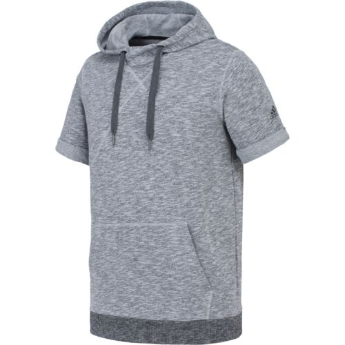 adidas Men's Cross Up Short Sleeve Hoodie
