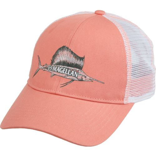 Magellan Outdoors Women's Sketched Sailfish Trucker Cap