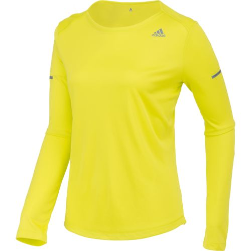 adidas™ Women's Sequencials Money Long Sleeve Running T-shirt