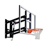 Goalsetter 72 in Wall Mounted Tempered-Glass Basketball Hoop - view number 1