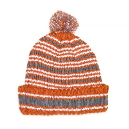 We Are Texas Men's University of Texas Chance Pom Cuff Beanie