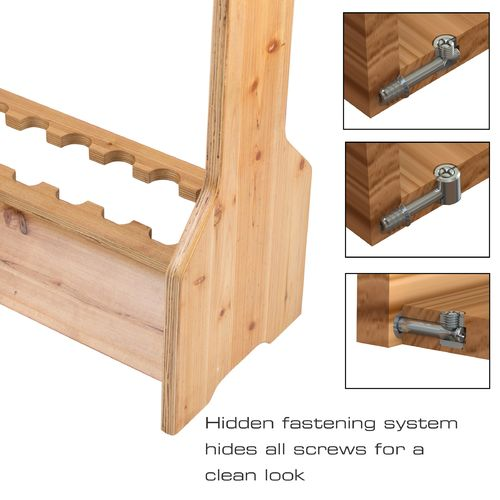 Rush Creek 16-Rod Double-Sided Storage Rack - view number 3