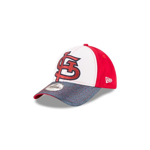 New Era Girls' St. Louis Cardinals Jr. Shimmer Shine 9FORTY Cap