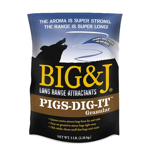 Big & J Pigs-Dig-It Wild Hog Granular Attractant