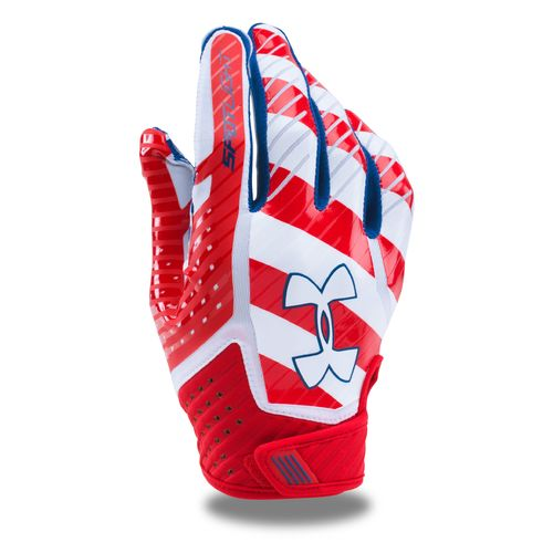 Display product reviews for Under Armour Adults' Limited Edition Spotlight Football Gloves