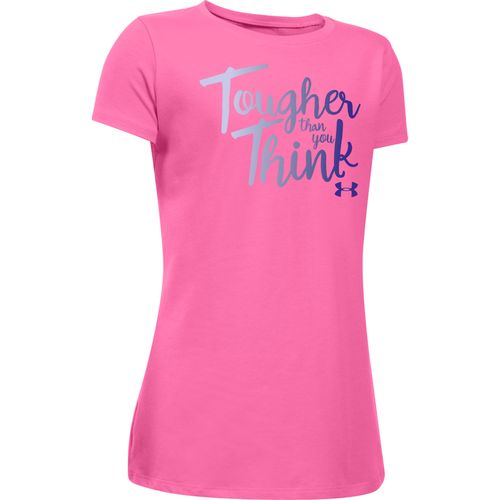 Under Armour Girls' Tougher Than You Think Short Sleeve T-shirt