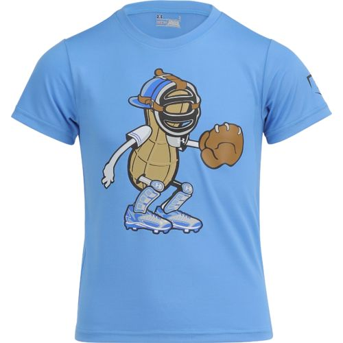 Under Armour Boys' Peanut Catcher Short Sleeve T-shirt