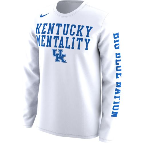 Nike Men's University of Kentucky Basketball Legend Mentality Bench T-shirt
