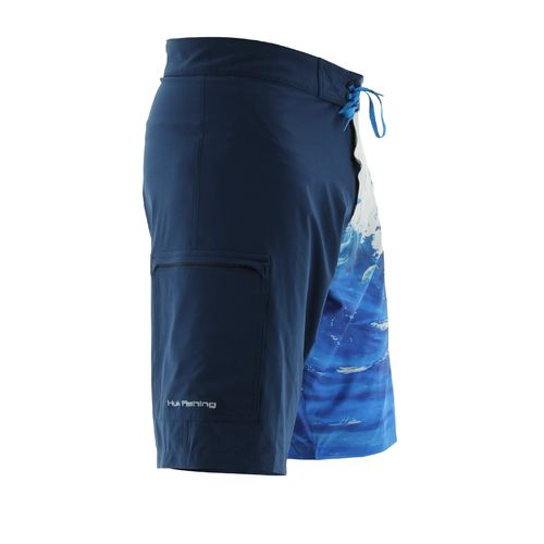 Huk Men's KScott Double Down Boardshort