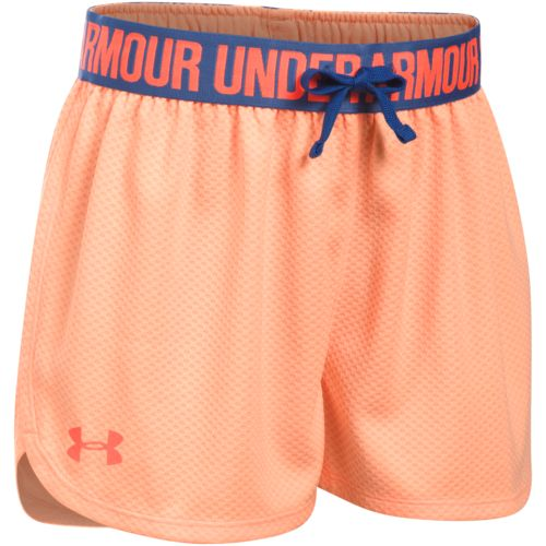 Under Armour Girls' Mesh Play Up Training Short - view number 1