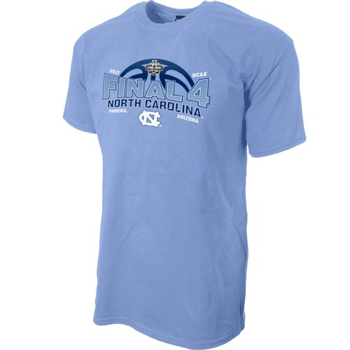 Blue 84 Men's University of North Carolina 2017 NCAA Men's Final Four Basketball Crush T-shi