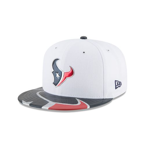 New Era Men's Houston Texans 59FIFTY NFL17 Official On Stage Cap