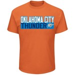 Majestic Youth Oklahoma City Thunder Russell Westbrook 0 Name And Number T-shirt - view number 2