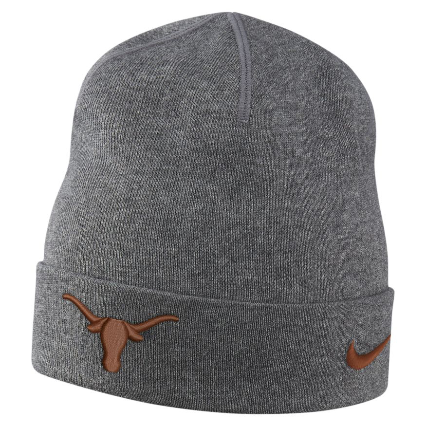 Nike Men's University of Texas Dri-FIT Cuff Beanie