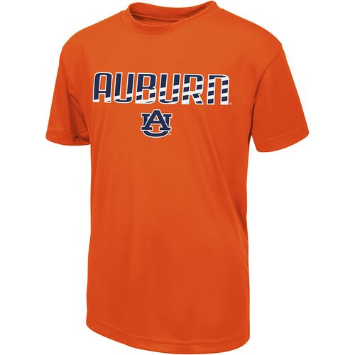 Colosseum Athletics Boys' Auburn University Team Stripe T-shirt