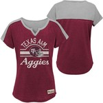 Gen2 Girls' Texas A&M University Tribute Football T-shirt - view number 3