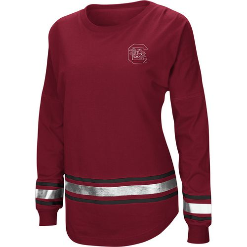 Colosseum Athletics Women's University of South Carolina Humperdinck Oversize Long Sleeve T-shirt