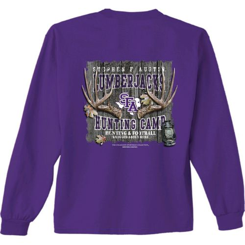 New World Graphics Men's Stephen F. Austin State University Hunt Long Sleeve T-shirt