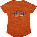 Blue 84 Women's Sam Houston State University Dark Confetti V-neck T-shirt - view number 1